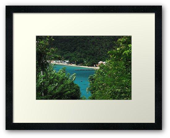 Sneak Peek of Anse d'Arlet - Martinique, F.W.I. by Olivia Son