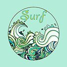 Surf the Wave by roccoyou