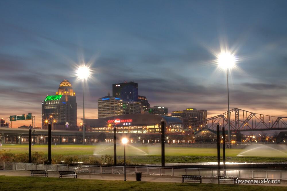 Louisville Kentucky River Front Park by DevereauxPrints
