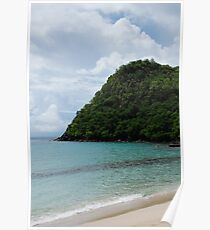 Beach Anse d'Arlet - Martinique, F.W.I. Poster