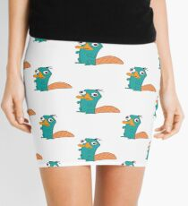 Perry The Platypus Mini Skirt