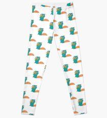 Perry The Platypus Leggings