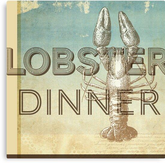 Lobster Dinner by Dallas Drotz