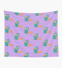 Perry The Platypus Wall Tapestry
