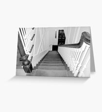Upstairs-Downstairs Greeting Card