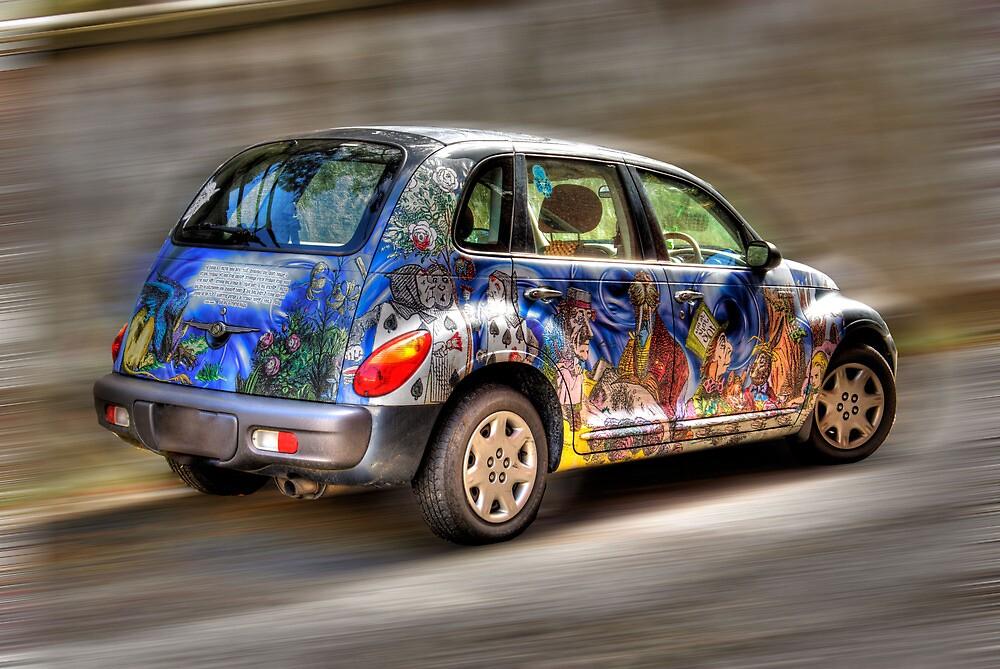 COLORFUL CAR by Diane Peresie