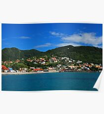 Anse d'Arlet - Martinique, F.W.I. Poster