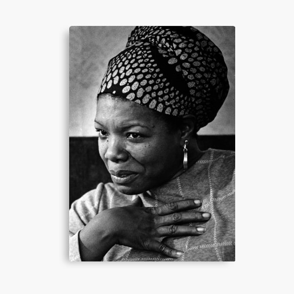 Art print POSTER CANVAS Maya Angelou at Grammy Awards