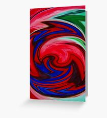 Digital Expertiment - Redbubble 2 Greeting Card