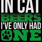 Cat Lover Beer Drinking von mjacobp