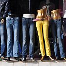 Yellow Jeans by Peter Hammer