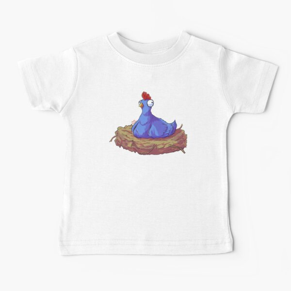 Funny Cute Chicken Hen Baby T-Shirt