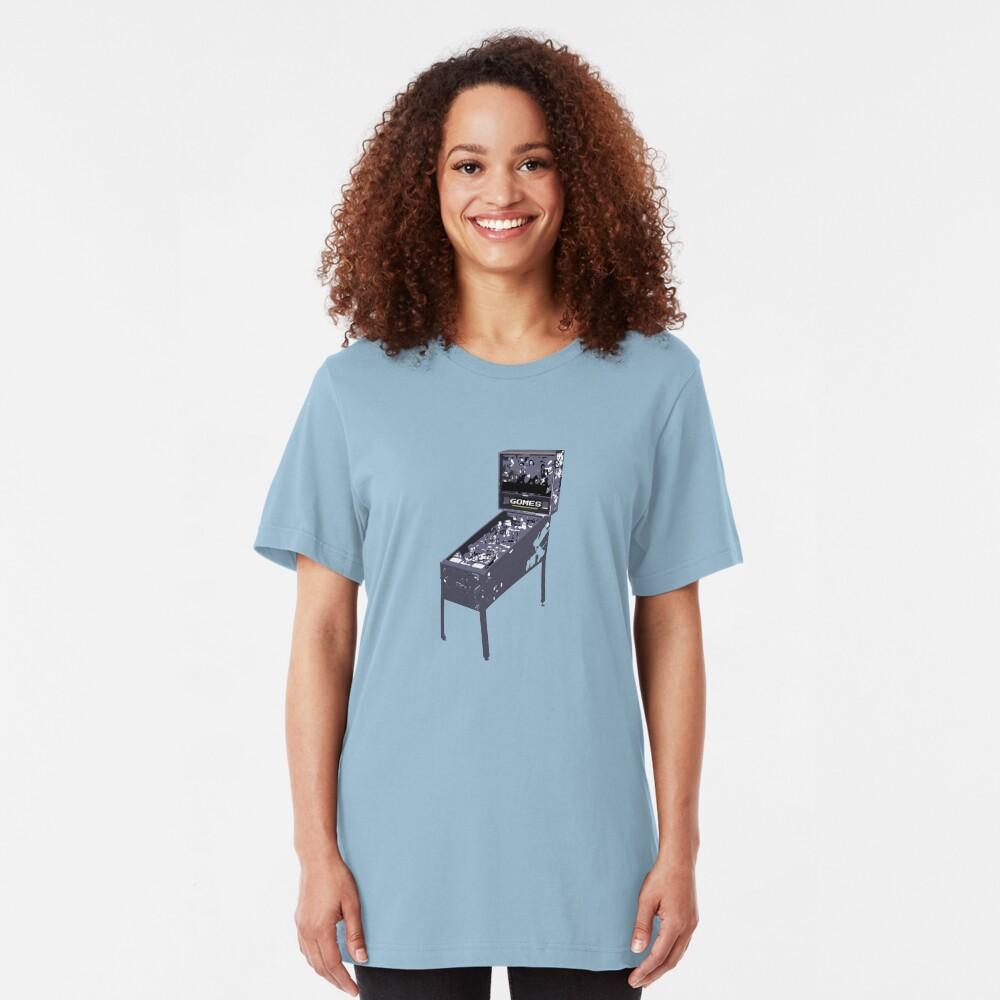 Pinball Gomes! Slim Fit T-Shirt