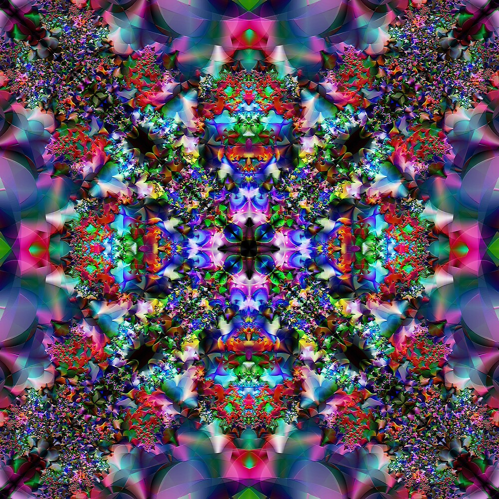 Multi-Fractal-Colour by Hugh Fathers