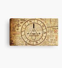 Bill Cipher Wheel Canvas Print