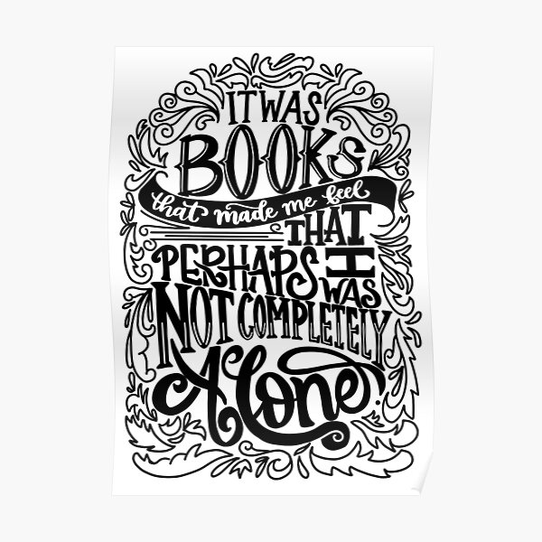 Clockwork Prince- Books Made Me Feel Not Completely Alone Poster