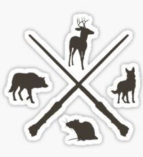 Hipster Marauders  Sticker