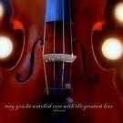 violino illuminato © 2010 patricia vannucci  by PERUGINA