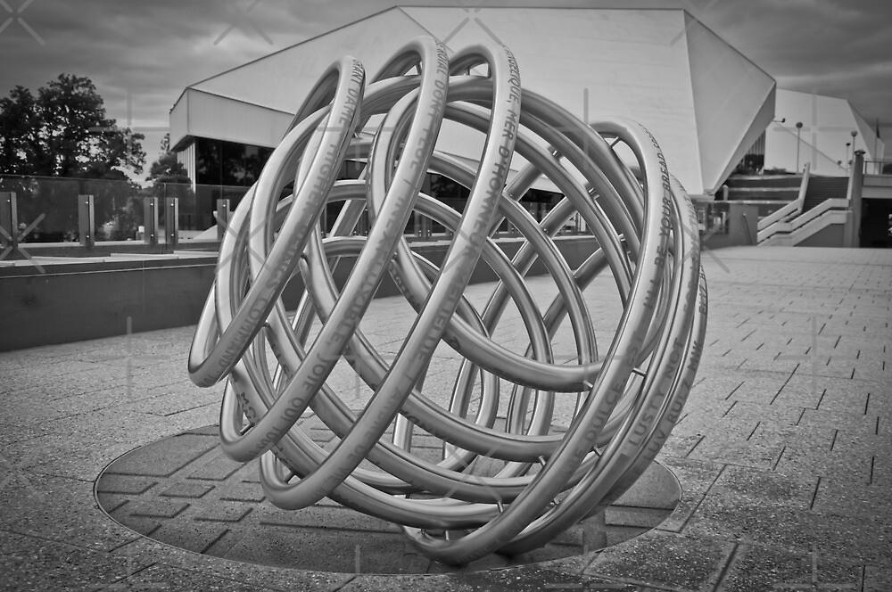 Adelaide Sculptures - Festival Theatre by Clintpix