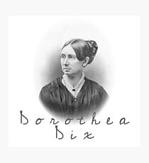 Dorothea Dix Photographic Print