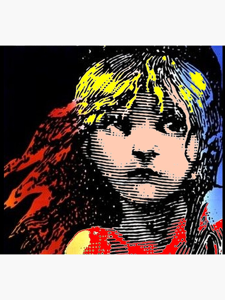 LES MISERABLES: Restored Colorized Advertising Print by posterbobs