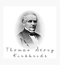 Thomas Story Kirkbride Photographic Print