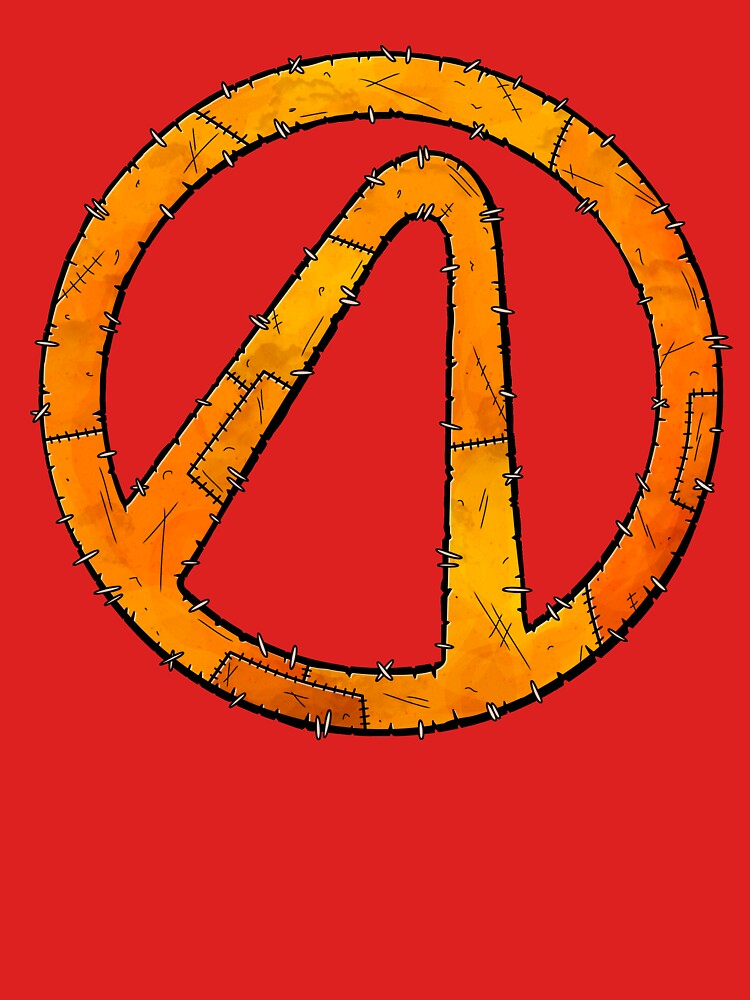 Vault Symbol Stitched - Borderlands by Doomgriever