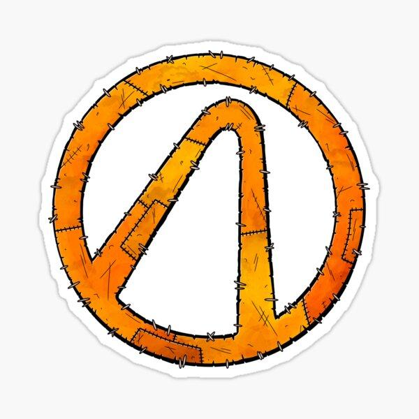 Vault Symbol Stitched - Borderlands Sticker