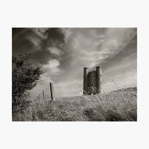 Broadway Tower Lith Effect Photographic Print