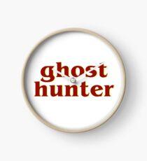 Retro 80s Ghost Hunter Clock