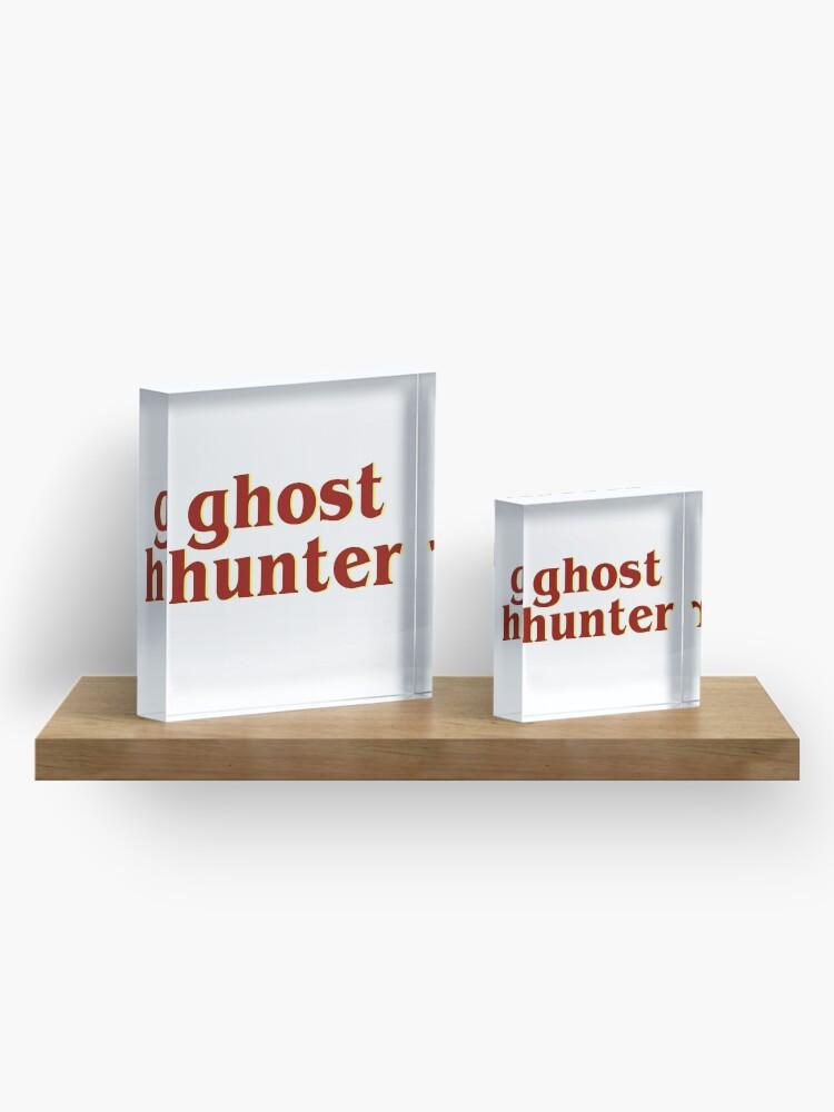 Alternate view of Retro 80s Ghost Hunter Acrylic Block