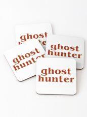 Retro 80s Ghost Hunter Coasters