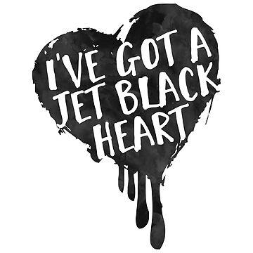 Jet Black Heart (pocket) by afiretami