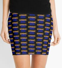 Stoic - Stay Stoic - Find Freedom Mini Skirt