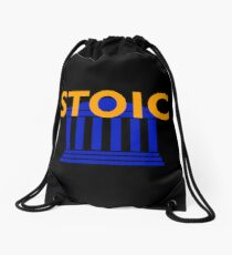 Stoic - Stay Stoic - Find Freedom Drawstring Bag