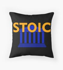 Stoic - Stay Stoic - Find Freedom Throw Pillow