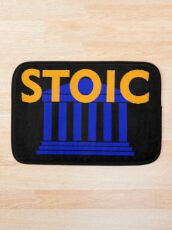 Stoic - Stay Stoic - Find Freedom Bath Mat