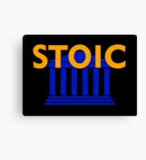 Stoic - Stay Stoic - Find Freedom Canvas Print