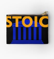 Stoic - Stay Stoic - Find Freedom Zipper Pouch