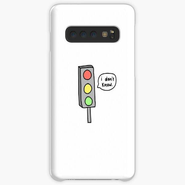 """I don't know"" Traffic Light Samsung Galaxy Snap Case"