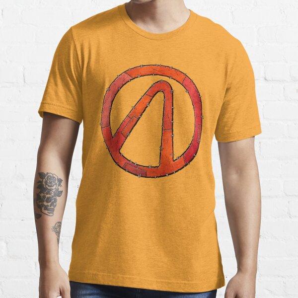 Vault Symbol Stitched Red - Borderlands Essential T-Shirt