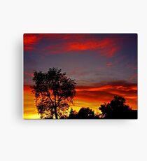 So Cal Winter Sky Canvas Print