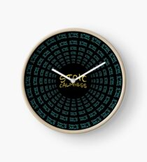 Stoic Calmness - Find Your Calm - Resist Anger Clock