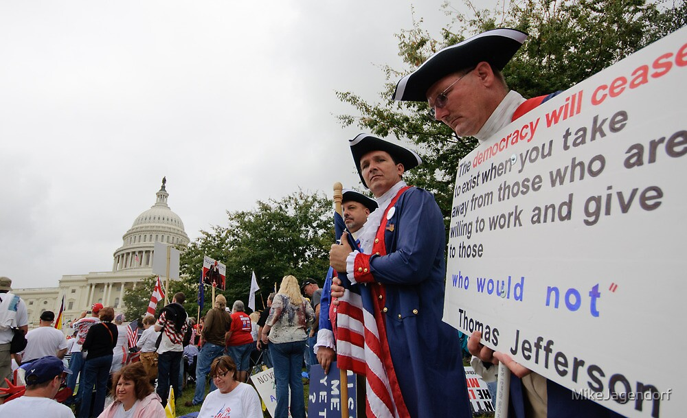 Washington Tea Party Rally by MikeJagendorf