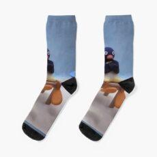 Angry Pingu Socks