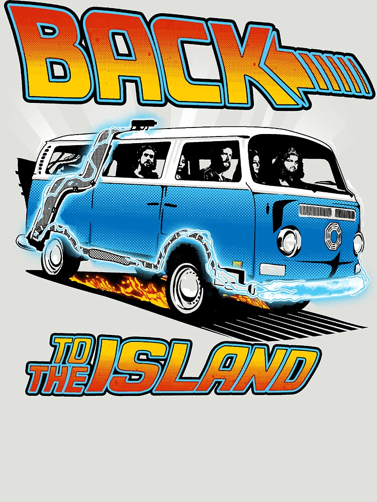 Back to the Island Lost And Back to the Future Spoof by jimiyo
