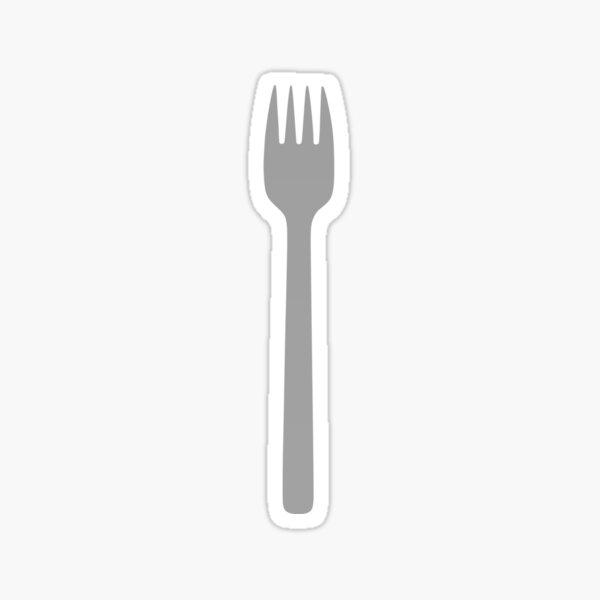 Fork Sticker