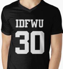 IDFWU Jersey (I Don't F**k With You) Shirt 30 Big Sean Men's V-Neck T-Shirt