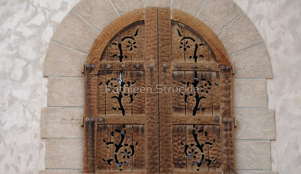 Carved Windows by Kathleen Struckle