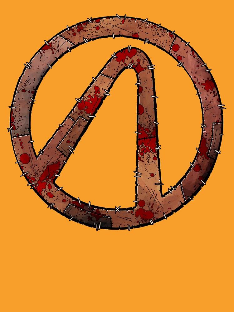 Vault Symbol Stitched Psycho - Borderlands by Doomgriever